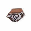 Crow Pattern Wooden Printing Block