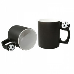 Football Handle Color Changing Mug