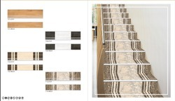 Rectangular Step Riser & Wood Look Tiles