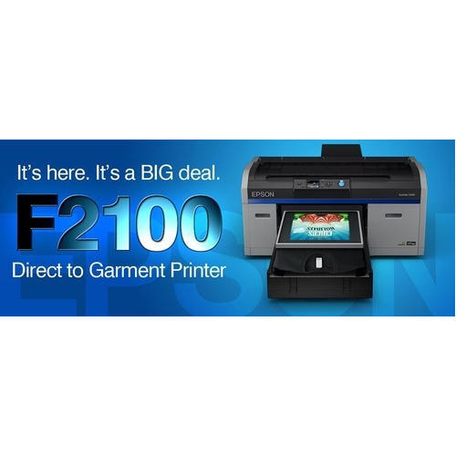 dec715d67 Epson F2100 DTG Printer For T-Shirts Printing, Capacity: 1-50 Pieces ...