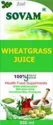 Sovam Natural Wheatgrass juice, Pack Size: 500 Ml