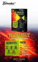 TATANKA NUTRITION Re Energize instant energy drink glucose powder with electrolytes, Packaging Size: 1kg