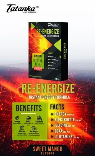 Re Energize Isotonic Glucose Powder With Electrolytes Supplements