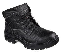 Skechers Safety Shoes 77143 - Burgin Tarlac Steel Toe