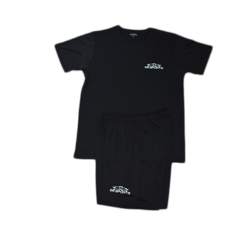 5b731dfc Be Sports Large And XL Mens Black Dri Fit Sports T Shirt And Shorts ...