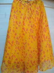 Yellow Quota Doriya Skirt