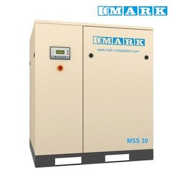 40 HP or 30 kW Mark (Atlas Copco) MSS 30 Oil Injected Screw Compressor, Discharge Pressure: 8, 10 Bar