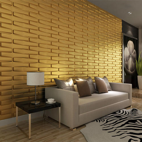 Dizzart Brick PVC Wall Panel, Application: Home, Office, Rs 35 ...