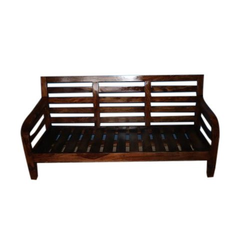 Pleasant Three Seater Wooden Sofa Dailytribune Chair Design For Home Dailytribuneorg