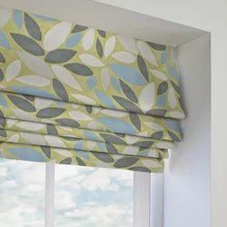 Yellow Roman Venetian Blind for Window