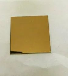 Rose gold mirror sheet 12 gauge