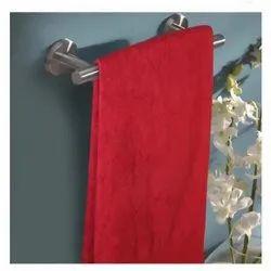 Cotton Eva Red Plum Bath Towel for Home & Hotel