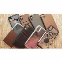 Available In Leather, Plastic Apple Mobile Back Cover, For Phone Protection