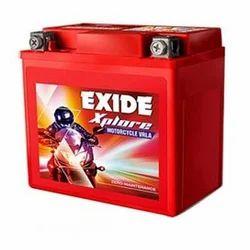 Plastic Exide Xplore Motorcycle Vrla Battery Z7 12V 76 AH, For Motor Cycle Batteries