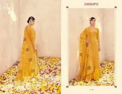 Kimora Aasmi Vol 14 Georgette Lakhnavi Embroidery Work Salwar Kameez
