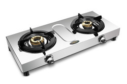 2 Burner Glass Top Gas Stove