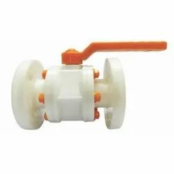 PP Ball Valve Flanged