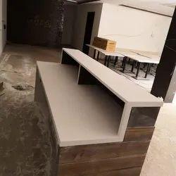 12 Mm Designer Corian Solid Surface Countertop