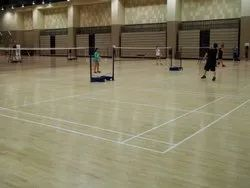 Matte Finish Indoor Badminton Court Flooring