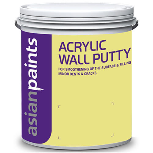 White Acrylic Wall Putty Rs 250 Litre Rv Traders Id 17242681697
