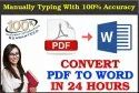 Manually Typing Services