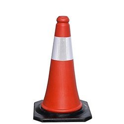 750mm Rubber Safety Cone