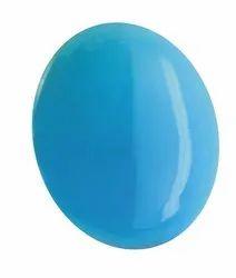 Phiroja Natural Stone Turquoise Stone Loose Gemstone