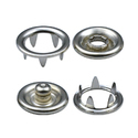 Silver Prong Snap Buttons, Size/dimension: 8mm