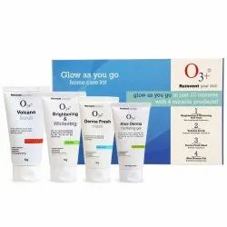 O3 Glow As You Go Kit for Normal to Oily Skin (4 x 50g)