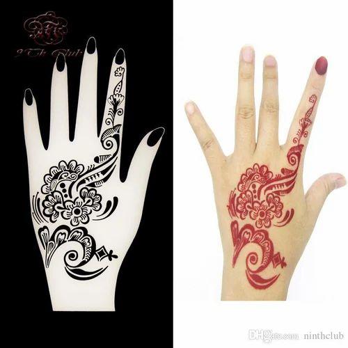 96b192d50420f Heena Hand Tattoos, हीना बॉडी टैटू - Chawla Products ...