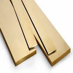 Brass Flat, Thickness: Min 4 Mm