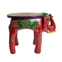 Stool Elephant Colored