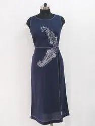 Ladies Designer Hand Embroidered Kurti