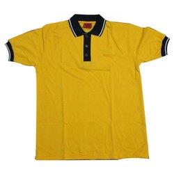 Plain Half Sleeves School Uniform T-Shirts