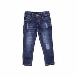 Kids- Boys Dark Blue Jeans Pants