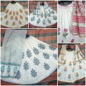 Traditional Block Printed Cotton Skirt