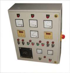 Sheet Metal Three Phase Motor AC Panel For PLC Automation, IP Rating: IP55