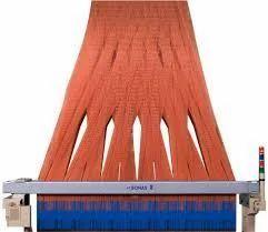 Installation Of Jacquard Harness On Electronic Jacquard Loom