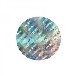 Round Hologram Sticker