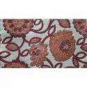 Embroidered Sofa Chenille Fabric, 350-400