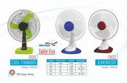 Cool Thunder Table Fan