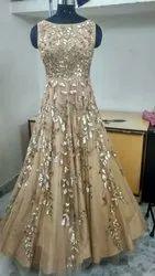 Plain Cotton Ladies Gown