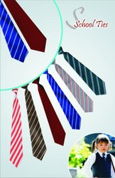 Custom Polyester School Uniform Ties