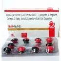 Ubidecarenone(Co Enzyme Q10), Lycopene, L-Arginine, Omega-3 Fatty Acid Selenium Soft Gel Capsules