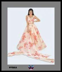 Designer Printed Lehenga