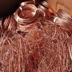 Copper Cable Scrap, For Automobile Industry, Grade: Grade A
