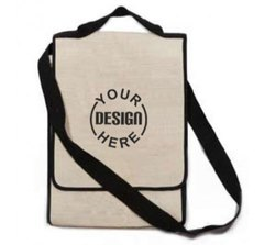 Jute Shoulder Printed Sling Bag