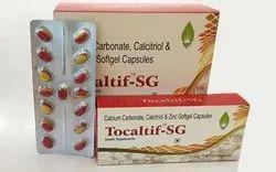 Calcium Carbonate, Calcitriol and Zinc Softgel Capsules
