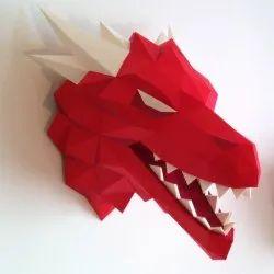 3D Dragon Wall Art Decor for Interior
