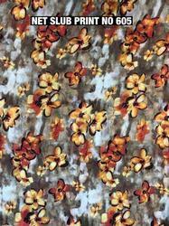 Net Slub Garment Fabric